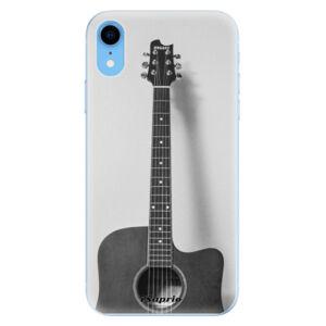Odolné silikónové puzdro iSaprio - Guitar 01 - iPhone XR