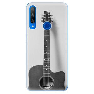 Odolné silikónové puzdro iSaprio - Guitar 01 - Huawei Honor 9X