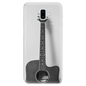 Odolné silikónové puzdro iSaprio - Guitar 01 - Samsung Galaxy J6+