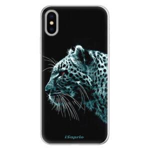 Silikónové puzdro iSaprio - Leopard 10 - iPhone X