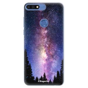 Silikónové puzdro iSaprio - Milky Way 11 - Huawei Honor 7C