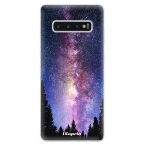 Odolné silikonové pouzdro iSaprio - Milky Way 11 - Samsung Galaxy S10+