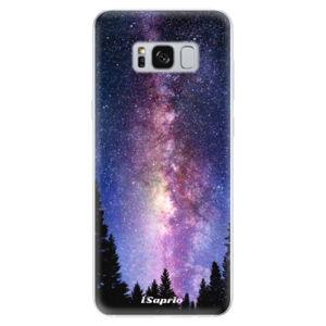 Odolné silikónové puzdro iSaprio - Milky Way 11 - Samsung Galaxy S8