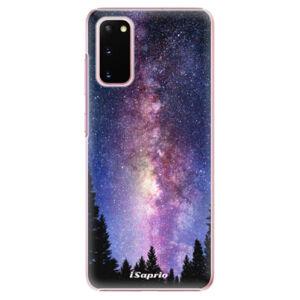 Plastové puzdro iSaprio - Milky Way 11 - Samsung Galaxy S20
