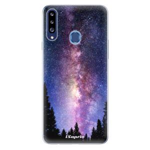 Odolné silikónové puzdro iSaprio - Milky Way 11 - Samsung Galaxy A20s