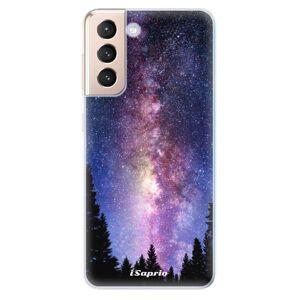 Odolné silikónové puzdro iSaprio - Milky Way 11 - Samsung Galaxy S21