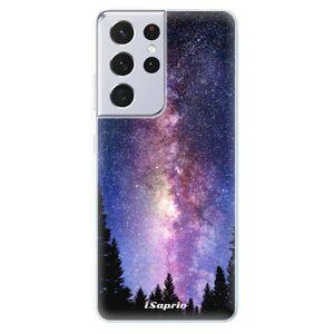 Odolné silikónové puzdro iSaprio - Milky Way 11 - Samsung Galaxy S21 Ultra
