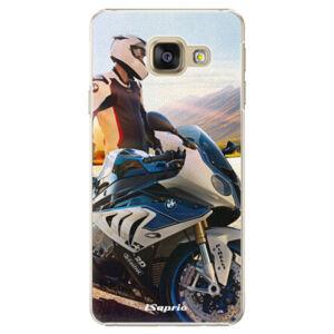 Plastové puzdro iSaprio - Motorcycle 10 - Samsung Galaxy A3 2016