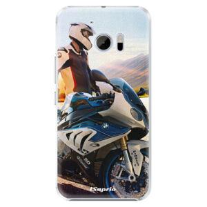 Plastové puzdro iSaprio - Motorcycle 10 - HTC 10