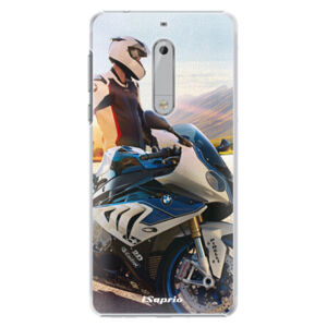 Plastové puzdro iSaprio - Motorcycle 10 - Nokia 5