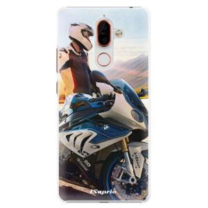 Plastové puzdro iSaprio - Motorcycle 10 - Nokia 7 Plus