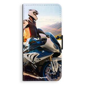 Flipové puzdro iSaprio - Motorcycle 10 - Huawei Ascend P8