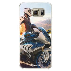 Silikónové puzdro iSaprio - Motorcycle 10 - Samsung Galaxy S6