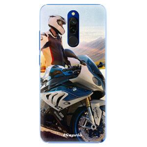 Plastové puzdro iSaprio - Motorcycle 10 - Xiaomi Redmi 8
