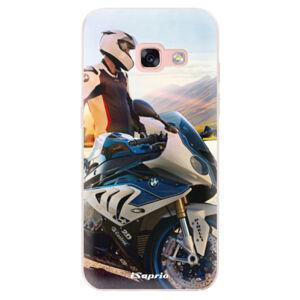 Odolné silikónové puzdro iSaprio - Motorcycle 10 - Samsung Galaxy A3 2017
