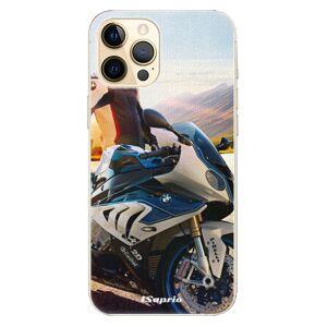 Plastové puzdro iSaprio - Motorcycle 10 - iPhone 12 Pro
