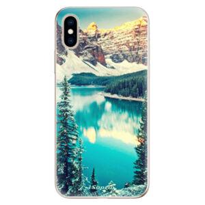 Odolné silikónové puzdro iSaprio - Mountains 10 - iPhone XS