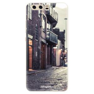 Silikónové puzdro iSaprio - Old Street 01 - Huawei P10