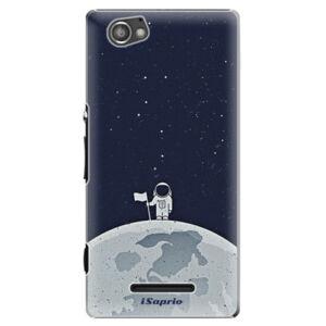 Plastové puzdro iSaprio - On The Moon 10 - Sony Xperia M