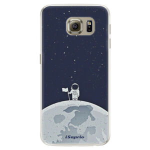 Silikónové puzdro iSaprio - On The Moon 10 - Samsung Galaxy S6 Edge