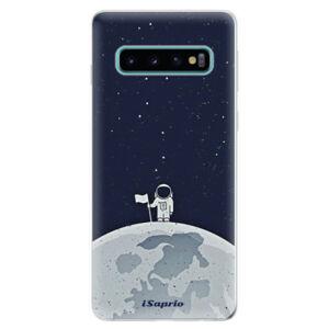 Odolné silikonové pouzdro iSaprio - On The Moon 10 - Samsung Galaxy S10