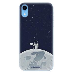 Odolné silikónové puzdro iSaprio - On The Moon 10 - iPhone XR