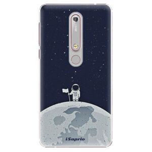 Plastové puzdro iSaprio - On The Moon 10 - Nokia 6.1