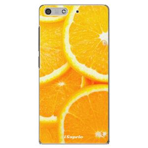 Plastové puzdro iSaprio - Orange 10 - Huawei Ascend P7 Mini