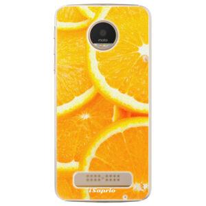 Plastové puzdro iSaprio - Orange 10 - Lenovo Moto Z Play