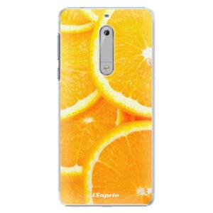 Plastové puzdro iSaprio - Orange 10 - Nokia 5