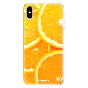 Silikónové puzdro iSaprio - Orange 10 - iPhone XS Max