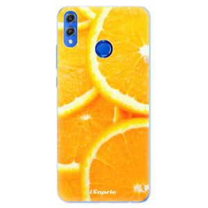 Silikónové puzdro iSaprio - Orange 10 - Huawei Honor 8X