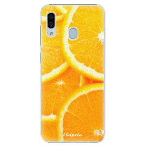 Plastové puzdro iSaprio - Orange 10 - Samsung Galaxy A30