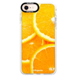 Silikónové púzdro Bumper iSaprio - Orange 10 - iPhone 8