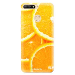 Odolné silikónové puzdro iSaprio - Orange 10 - Huawei Y6 Prime 2018