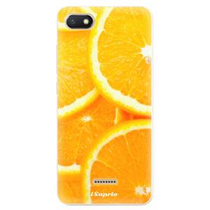 Odolné silikónové puzdro iSaprio - Orange 10 - Xiaomi Redmi 6A