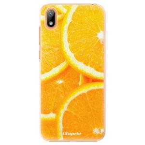Plastové puzdro iSaprio - Orange 10 - Huawei Y5 2019