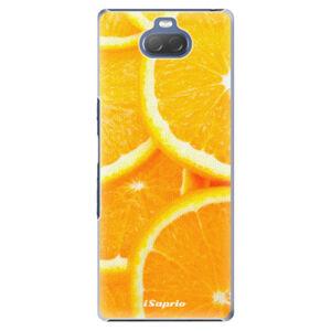 Plastové puzdro iSaprio - Orange 10 - Sony Xperia 10 Plus