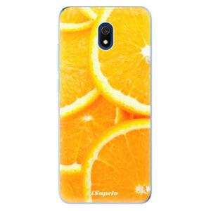 Odolné silikónové puzdro iSaprio - Orange 10 - Xiaomi Redmi 8A