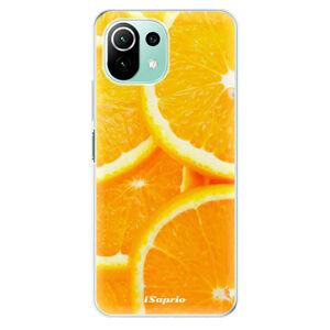 Odolné silikónové puzdro iSaprio - Orange 10 - Xiaomi Mi 11 Lite