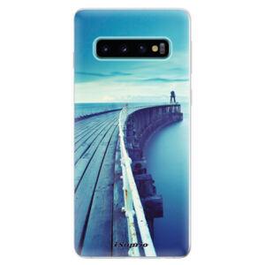 Odolné silikonové pouzdro iSaprio - Pier 01 - Samsung Galaxy S10