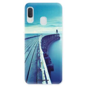 Odolné silikónové puzdro iSaprio - Pier 01 - Samsung Galaxy A20e