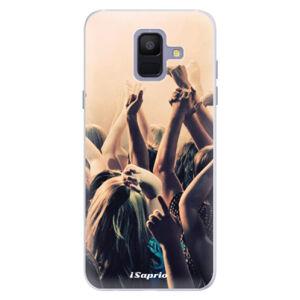 Silikónové puzdro iSaprio - Rave 01 - Samsung Galaxy A6