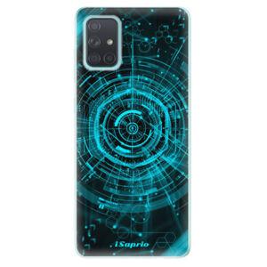 Odolné silikónové puzdro iSaprio - Technics 02 - Samsung Galaxy A71