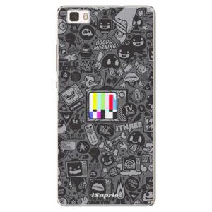 Plastové puzdro iSaprio - Text 03 - Huawei Ascend P8 Lite