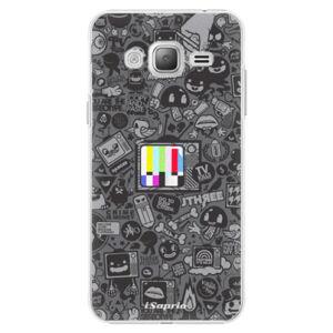 Plastové puzdro iSaprio - Text 03 - Samsung Galaxy J3