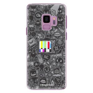 Plastové puzdro iSaprio - Text 03 - Samsung Galaxy S9