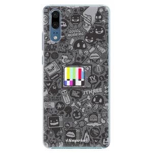 Plastové puzdro iSaprio - Text 03 - Huawei P20
