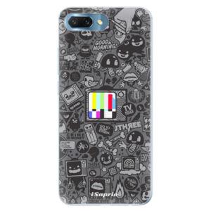 Silikónové puzdro iSaprio - Text 03 - Huawei Honor 10