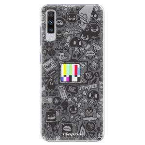 Plastové puzdro iSaprio - Text 03 - Samsung Galaxy A70